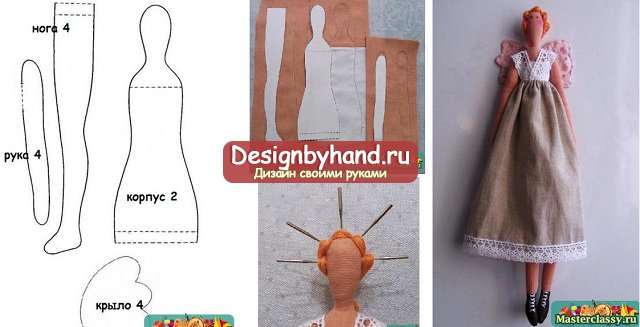 для інтер єрної ляльки своїми руками викрійки найчастіше можна підглянути  або в журналах 982f2b878a24b